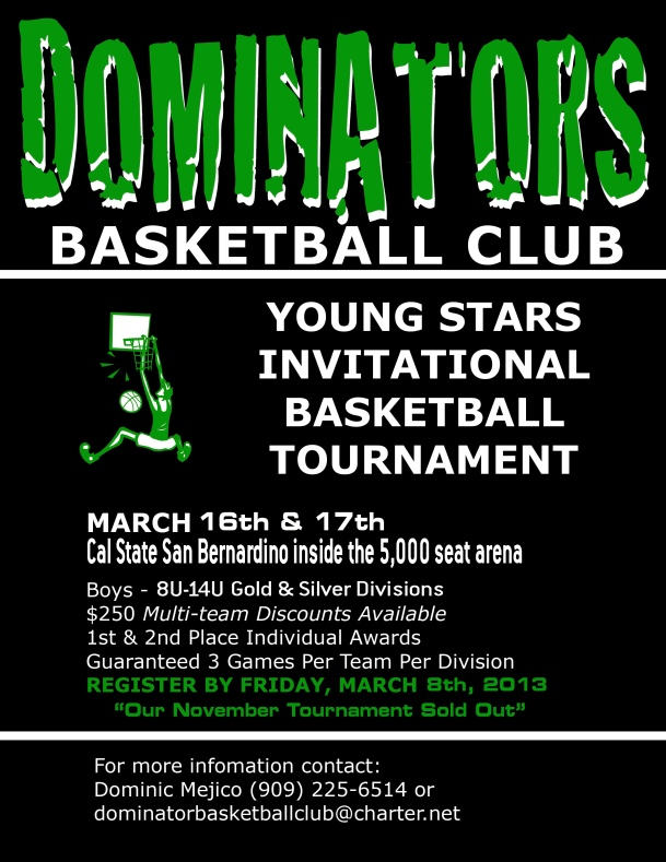 Young stars invitational 2013