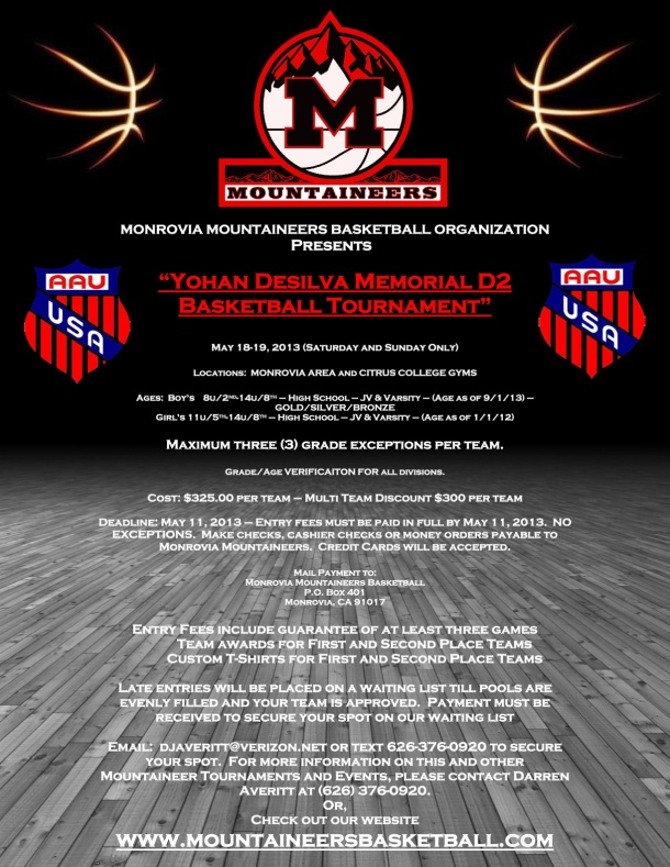 Yohan-DeSilva-Memorial-D2-Tournament-Flier-May-2013
