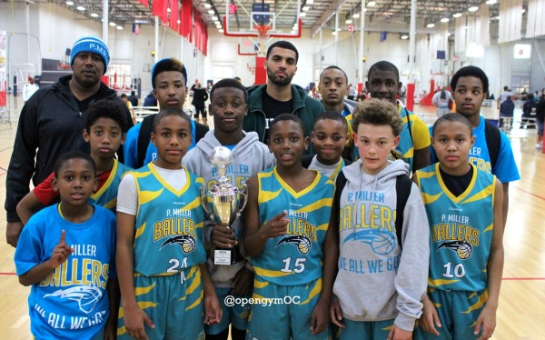 P. Miller Ballers 12u Gold Champs!