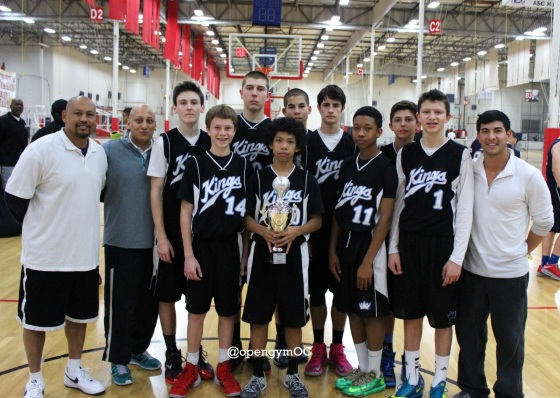 Kings Academy 14u Gold Champs