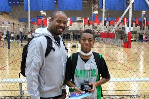 Malik Thomas 12u Silver MVP