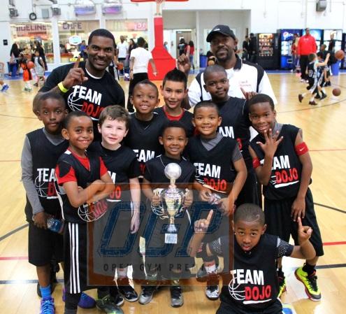 8U Gold Team Dojo