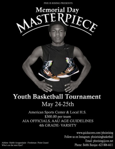 AZ Phx is Rising Masterpiece May 24-25, 2014