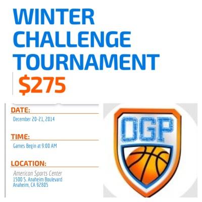 Winter Challenge December 20-21, 2014