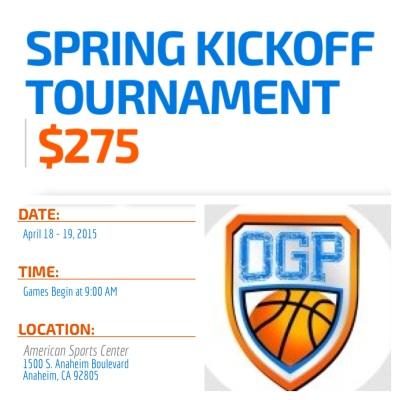 Spring Kickoff April 18-19, 2015