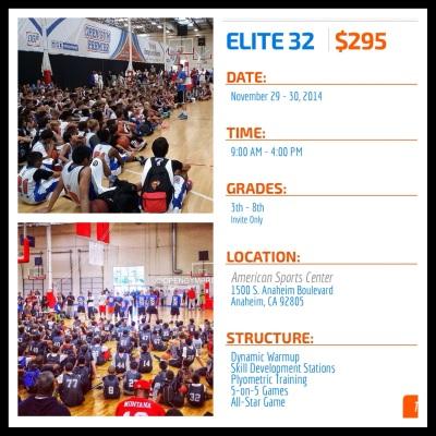 Elite 32 Camp November 29-30