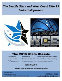 2015 Seattle Stars Classic March 7-8, 2015