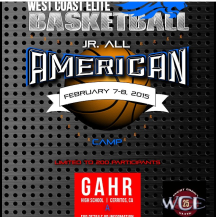 2nd Annual WCE Jr. All-American Camp February 7-8