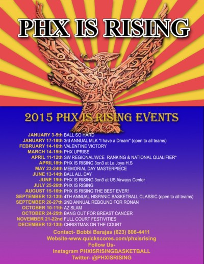 Phx is Rising 2015 Events